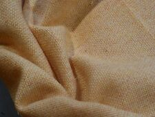 Flecked 100% Worsted Wool Heavy Suiting/Jacketing in Shades Creamy Butter Yellow