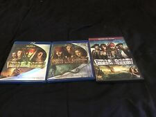 Pirates of the Caribbean Collection (3-Blu-ray Movies) Black Pearl/Deadman's Che