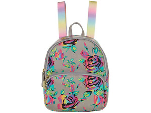 Luv Betsey Johnson Peyton (Mini) Backpack Grey Floral NEW SEALED