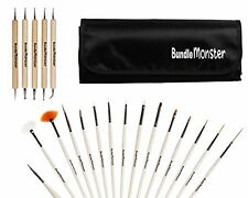 Bundle Monster New Pro 20pc Nail Art Design Painting Detailing Brushes  Dotter