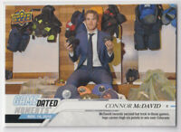 2019-20 Upper Deck Game Dated Moments November Connor McDavid #19