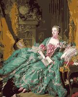 Madame de Pompadour Beautiful Hand Painted Design Needlepoint Canvas 117