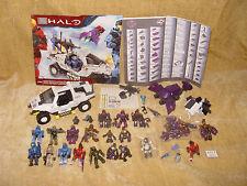 Gros vrac lot MEGA BLOKS Halo wars figurines + véhicules + brutes-certains Scellé