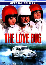 Disney Classic Comedy Herbie The Love Bug Volkswagen Beetle Car Movie on DVD