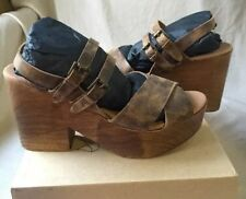 Leather Ankle Strap Casual 10 Sandals & Flip Flops for Women