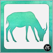 Gazelle #1 - durable and reusable stencil for DIY painting & crafts