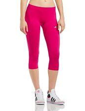 New Adidas   3/4 leggings /Size S (UK 8-10)/Women's  capris/Adipure/tight/ pink