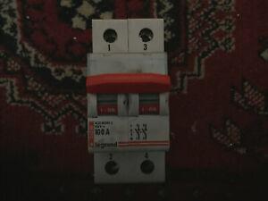 Legrand 100A Main Switch.