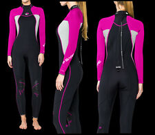 Bare Nixie Womens Wetsuit - 3/2 Mm - All Sizes -Black, Pink or Purple