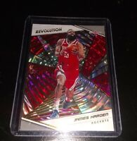 2018-19 Panini Revolution JAMES HARDEN #48 Fractal Houston Rockets