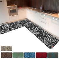 Tappeto cucina bordato angolare passatoia su misura al metro moderno mod.ILIZIA