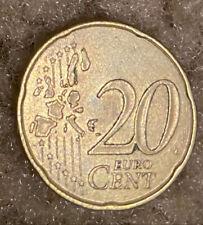 Euro Coin. 20 Cent. 1999