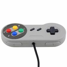 Snes USB Retro Classic Gamepad Joypad Controller For PC/MAC Super Nintendo Games