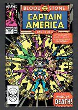 Captain America #359 First Crossbones App (Cameo) Marvel Comics Copper NM 1989