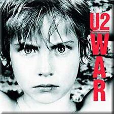 U2 War fridge magnet  75mm x 75mm  (ro)   REDUCED