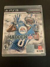 PS3G621 Madden NFL 13 (Sony PlayStation 3, 2012) GET IT FAST ~ US SHIPPER