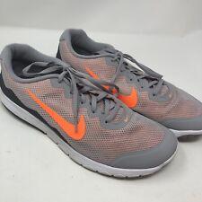 Nike Flex Experience RN 4 Mens Shoes Sz 12 Gray Orange Run Athletic 749172-003
