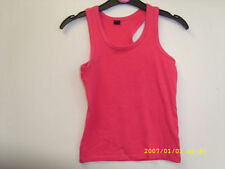 Unbranded Girls' No Pattern Sleeveless T-Shirts & Tops (2-16 Years)