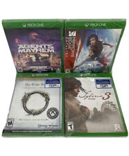 Mirror's Edge Catalyst,Agents Mayhem,The Elder Scrolls Xbox One (4 Game) Bundle