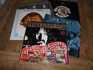 5 ROCK LPS - Beatles, Eric Burdon and Animals, Taste, Pink Floyd and Mothers.