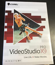 Corel Video Studio X9 Pro new in box