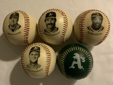 Lot of 5 Oakland A's Baseball's Chevron 1993 Team Stars