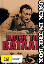 Back To Bataan DVD NEW, FREE POSTAGE WITHIN AUSTRALIA REGION ALL