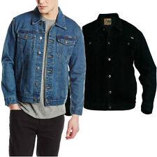 Button Cotton Hip Length Biker Jackets for Men