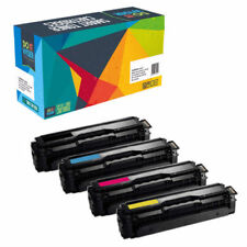 4-Pack Toner Set for Samsung C1860FW C1810W CLP-415NW CLX-4195FW CLT-K504S 504S