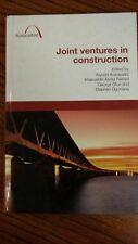 Joint Ventures in Construction (Hardcover) by Kiyoshi Kobayashi  2009