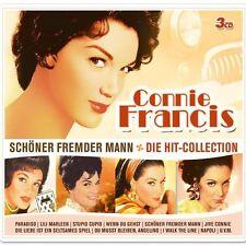 """CONNIE FRANCIS """"SCHÖNER FREMDER MANN"""" 3 CD BOX NEW+"""