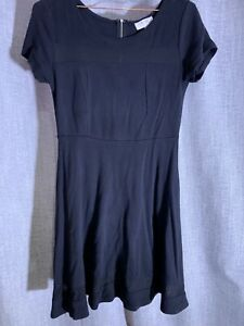 Executive Ponies Dress - Black - 12 - Mesh Feature Inserts - Stretchy