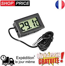 Thermomètre Digital avec Sonde pour Aquarium Réfrigérateur Voiture (NEUF)