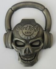 Hard Rock Cafe Gdansk Skull Fridge Magnet/Bottle Opener  New