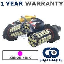 2x Canbus Xenon rosa HB3 60 LED SMD ABBAGLIANTE LAMPADINE PER LAND ROVER