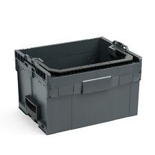 LT BOXX 272 anthrazit Werkzeugkoffer leer Bosch Sortimo L Boxx Werkzeugbox offen