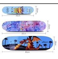 "Kids Skateboard Beginners Brand  Retro Wooden 31"" 23"" 17"" Different Sizes"
