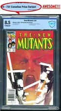 NEW MUTANTS #26 CBCS 8.5, 75¢ COVER PRICE VARIANT! CANADIAN NEWSSTAND NOT CGC 🔑