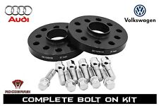 2pc Audi & Volkswagen 15mm Wheel Spacer Kit 5x100 / 5x112 57.1mm Bore