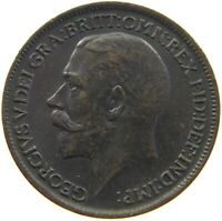GREAT BRITAIN FARTHING 1912 TOP #s8 171