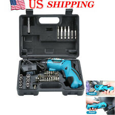 45PC 4.8V Electric Screwdriver Multi Charge Hand Cordless Drill Screw Batch Set