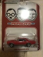 Greenlight 1968 Orange Plymouth Roadrunner Gtx Pepboys Exclusive Vhtf Rare