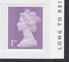 SG ? 1st purple O15R GS SA ex Long to Reign Over Us  RB Iss 9 Sept 15 - MNH