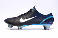 Nike Mercurial Vapor I R9 SG US9 Black Blue 302722 013 rare 1 II III ronaldo cr7