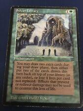 1x Sylvan Library, Legends MTG Magic