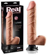 Vibromasseur réaliste Real Feel Toucher Peau - 31 cm