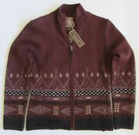 NWT Double D Ranch Wool Cardigan Southwest Sweater Sz XS
