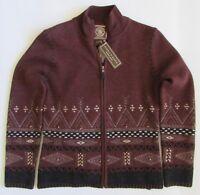 NWT Double D Ranch Wool Cardigan Southwest Sweater Sz XS