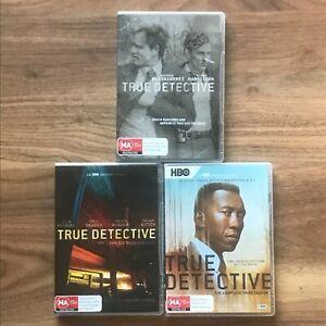 True Detective Season 1 2 3 DVD Region 4