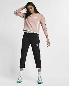 NWT Nike Sportswear Tech Fleece Women Size XS,S Joggers Cropped Pants AR2946 011